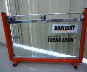 Box em vidro temperado