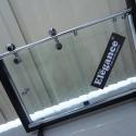 Box em vidro incolor com kit ELEGANCE