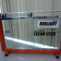 Box em vidro incolor com kit BOX LIGHT