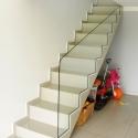 Peitoril para escada em vidro incolor 10mm